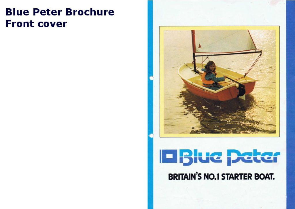 Blue Peter Brochure 1/3