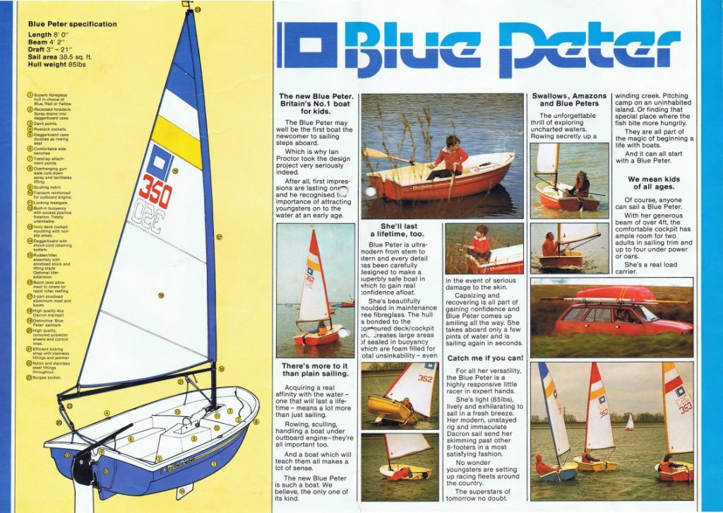 Blue Peter Brochure 2/3